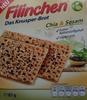 Filinchen Chia & Sesam - Produkt