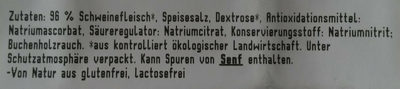 Bio Kasselerbraten - Inhaltsstoffe