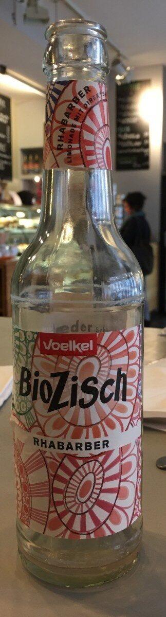 BioZisch Rhabarber - Valori nutrizionali - de