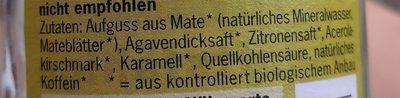 Mate - Ingredients - de