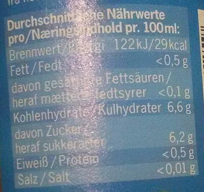 Heimische Apfelschorle naturtrüb - Nutrition facts