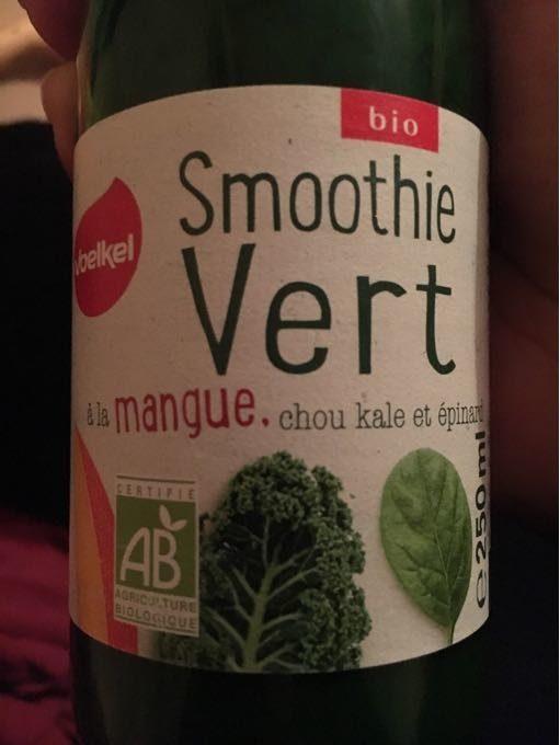 Smoothie vert à la mangue, chou kale et épinard - Product - fr