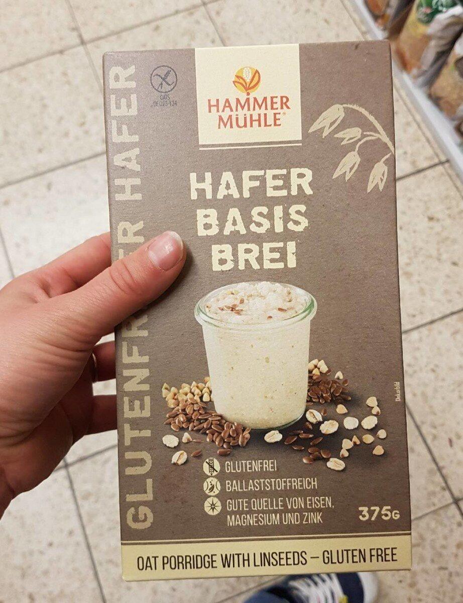 Hammer Mühle Hafer Basis Brei - Produit - fr