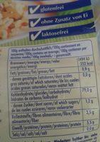 Coquillettes - Voedingswaarden
