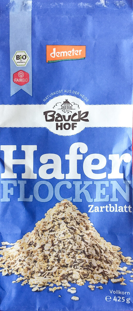 Haferflocken Zartblatt - Produkt - de