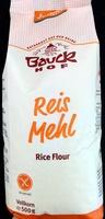Reismehl Vollkorn - Produkt - de