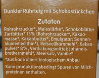 Bauckhof Brownies Extra Schokoladig - Ingredienti - fr