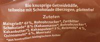 Knusper Bälle Schoko Mix - Ingredients - fr
