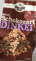 Müzli Schokozart Dinkel - Produit - fr