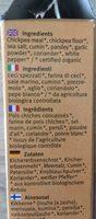 Falafel - Ingrédients - fr