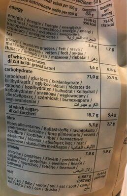 Bauck Hof Choco Balls, 300 GR Beutel - Voedingswaarden - en