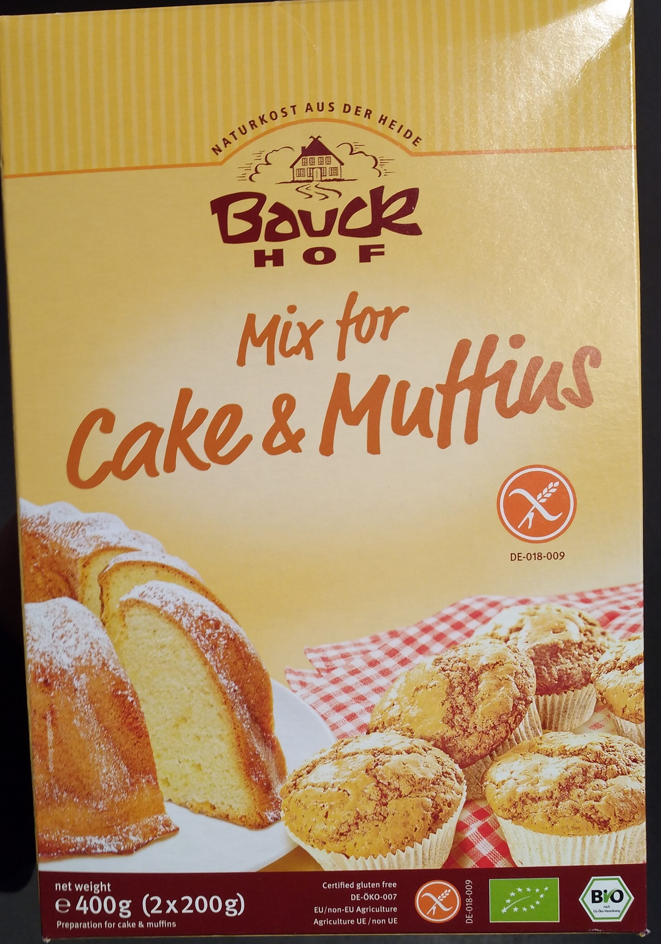 Mix for cake and muffin - Product - nl