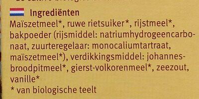 Mix for cake and muffin - Ingrediënten - nl