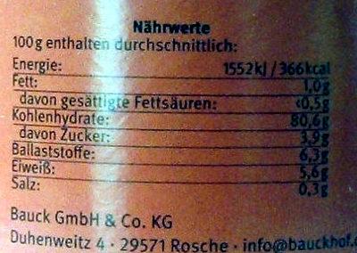 Malzkaffee - Ingredients - de