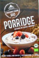 Porridge Haferbrei mit Beeren - Produkt