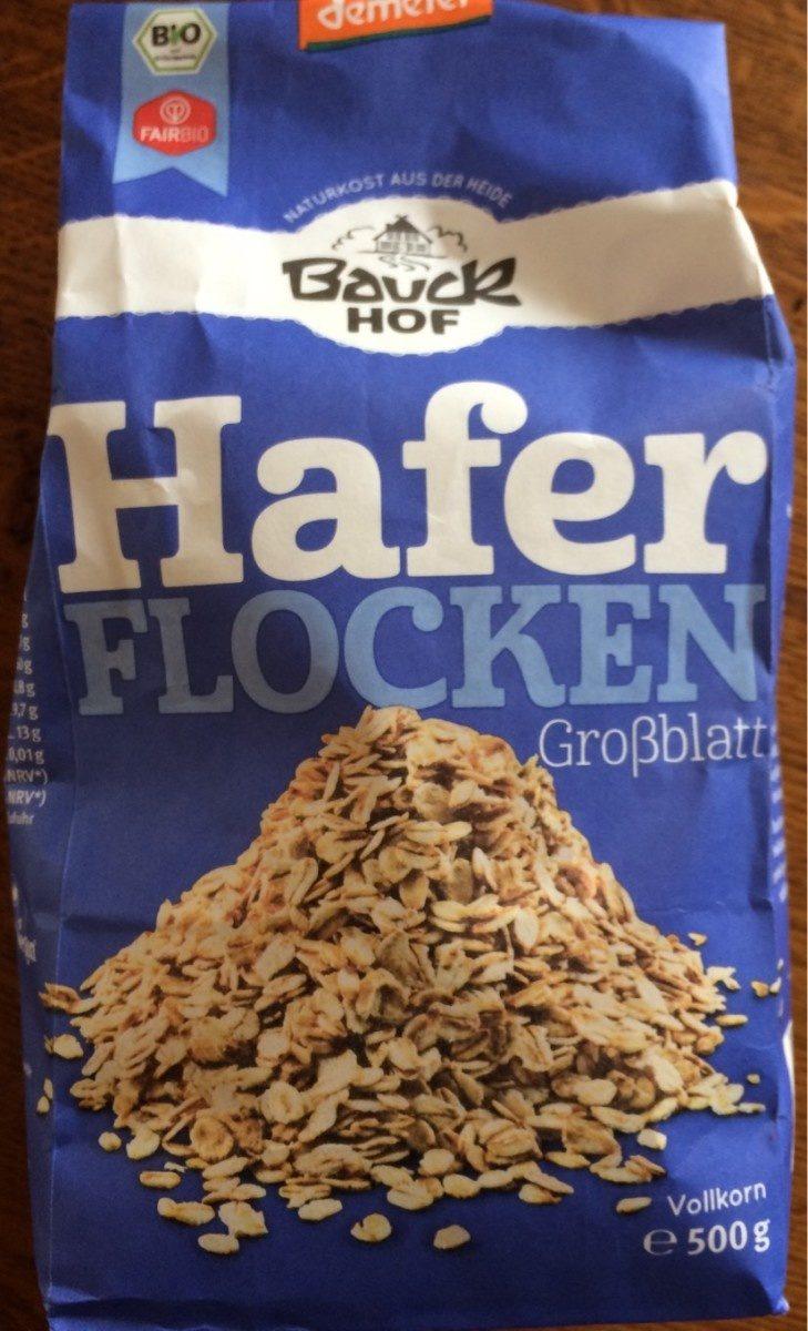Haferflocken Großblatt Vollkorn - Producto
