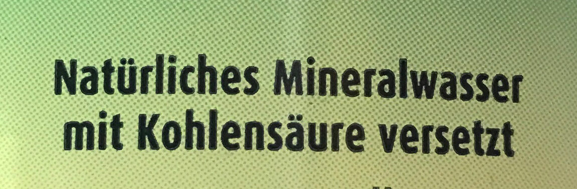 Mineralwasser Medium - Ingredienti - de