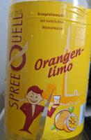 SpreeQuell Orangenlimo - Product