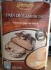 Pain de campagne - Préparation pour pain spécial - Product