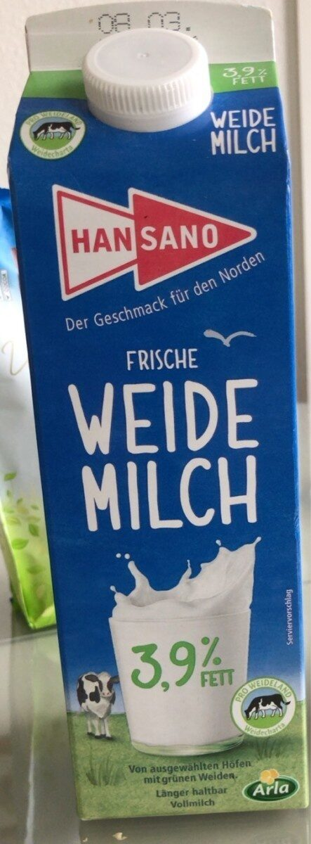 Weidemilch - Produkt - de