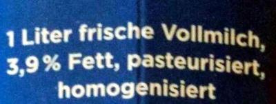 Weidemilch - Zutaten - de