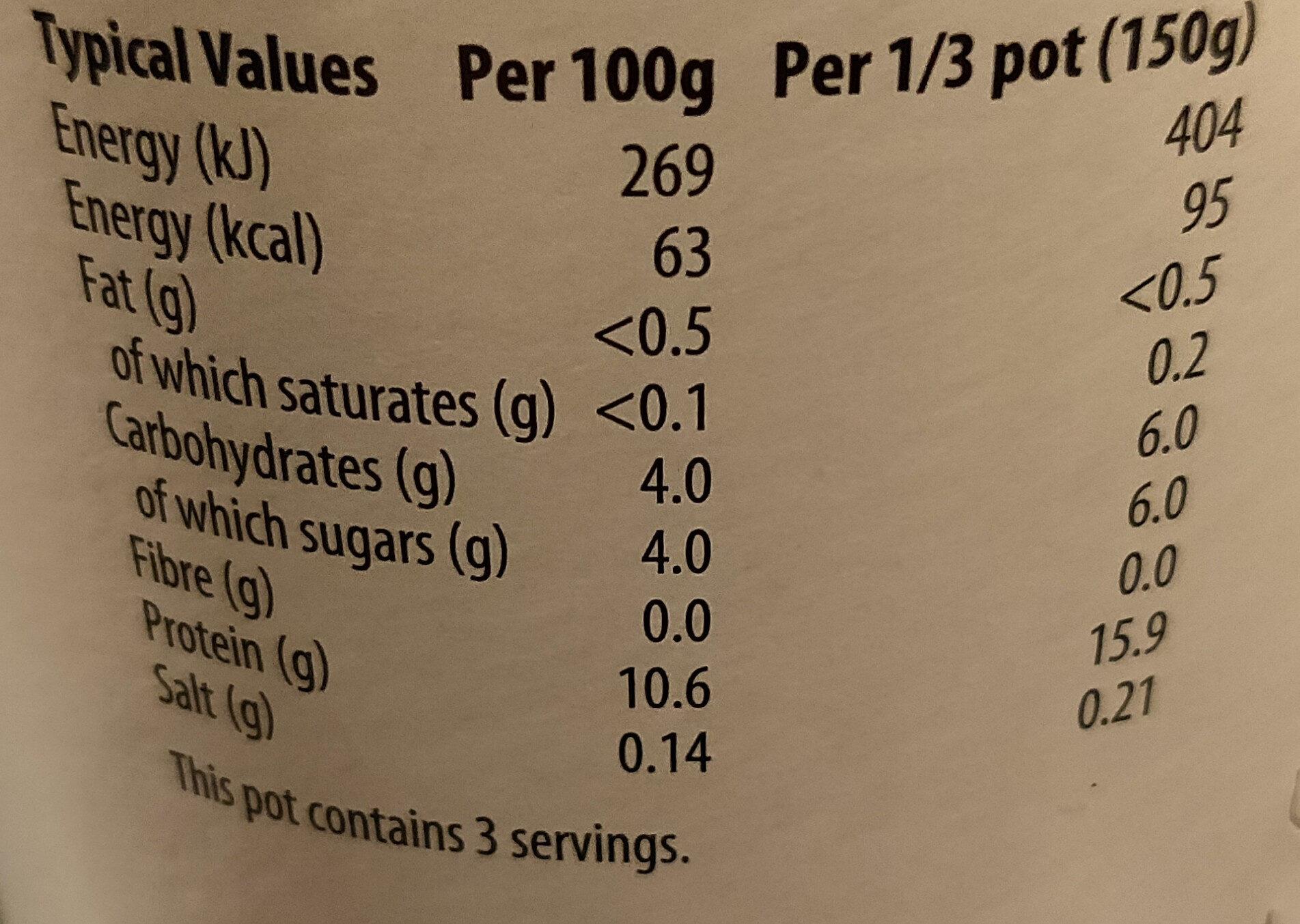 Skyr Icelandic Style Yoghurt - Nutrition facts - en