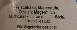 Skyr Natur - Ingredients - de