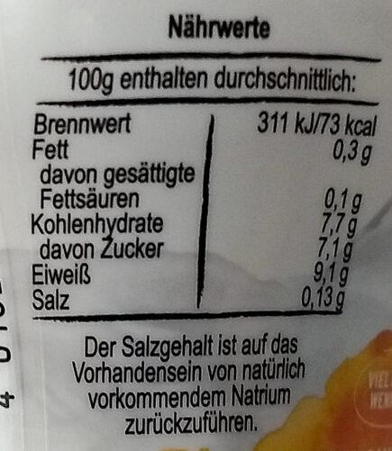 Skyr Aprikose-Sanddornbeere - Voedingswaarden - de