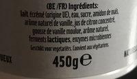 Skyr - Ingredients - fr