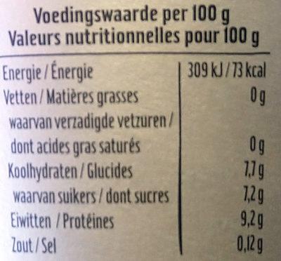 Skyr fraise - Voedingswaarden - fr