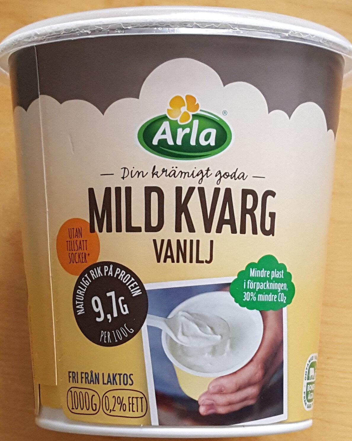 Mild Kvarg - Vanilj - Produit - sv