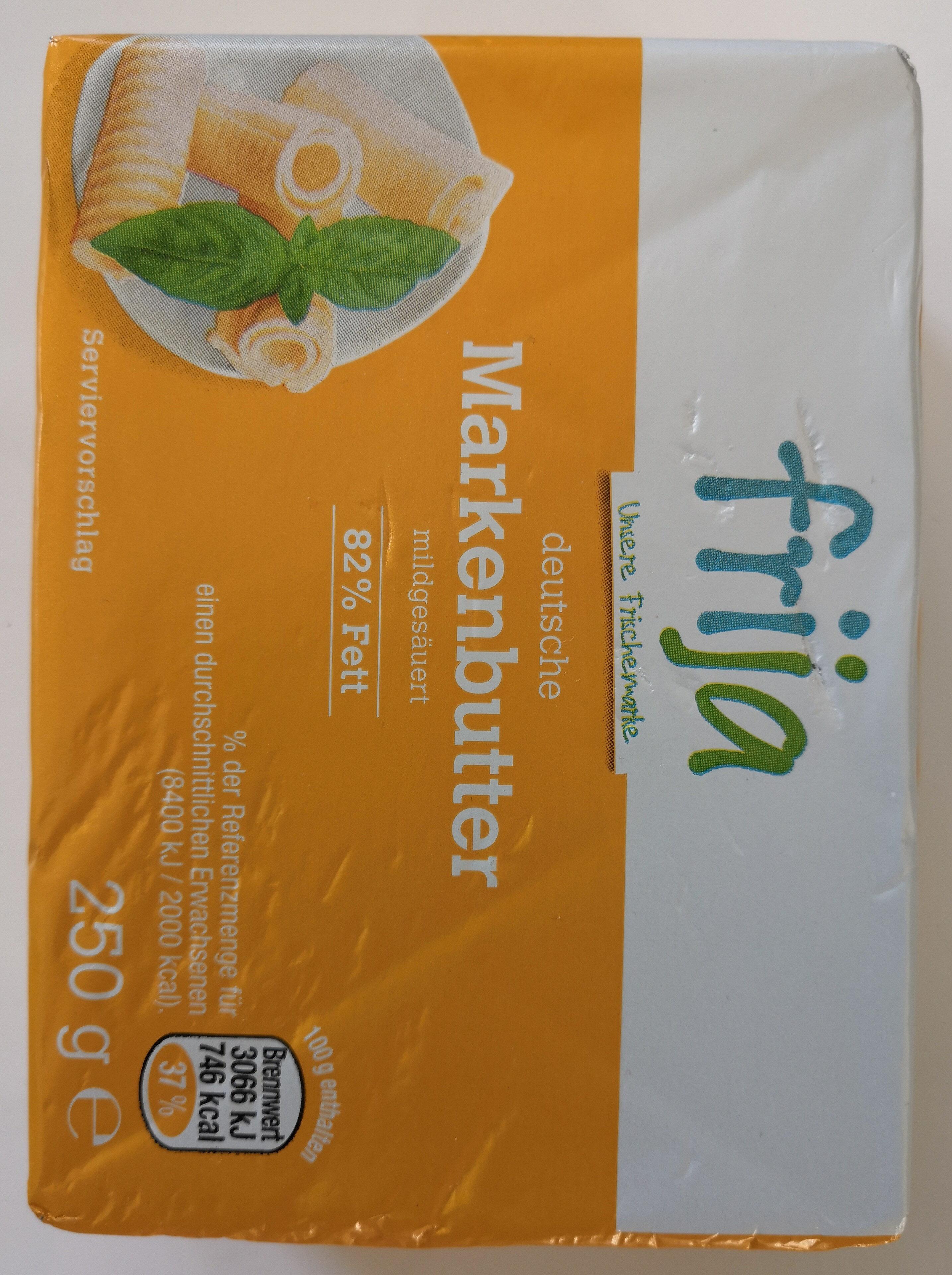 deutsche Markenbutter mildgesäuert - Produkt - de