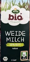 Bio Weidemilch 3,8% - Product