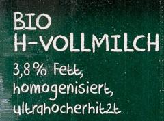 Bio Weide Milch haltbar 3,8 % Fett - Ingredients