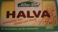 Halva - Nutrition facts