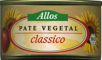 Paté vegetal ecológico Classico - Producte - es