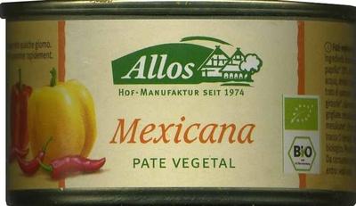 Paté vegetal ecológico Mexicana