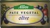 Paté vegetal ecológico Olive - Producto