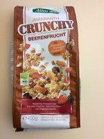 Crunch beerenfrucht - Muesli croustillant aux fruits rouges et à l'amarante - Product - fr
