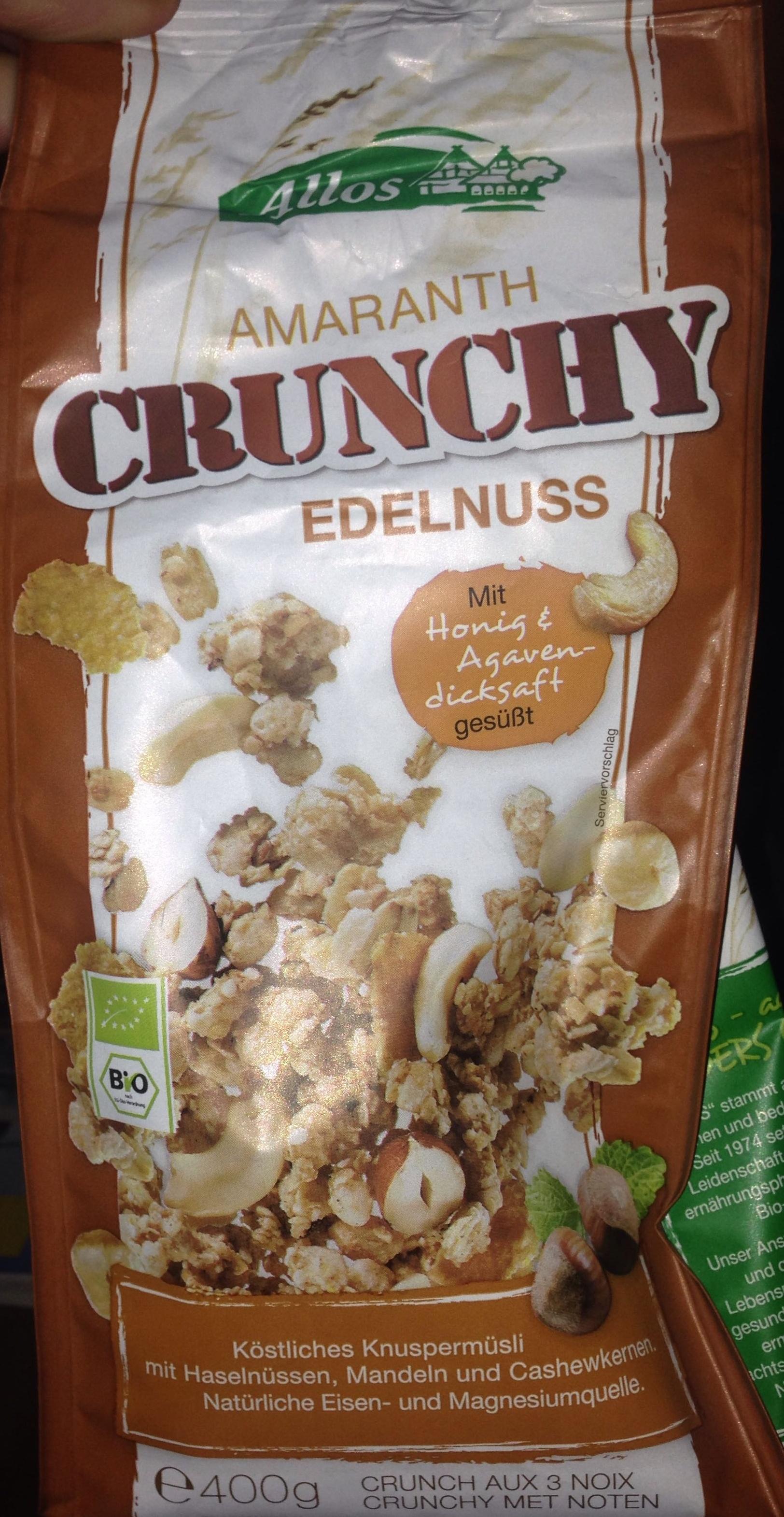 Amaranth crunchy edelnuss - Product