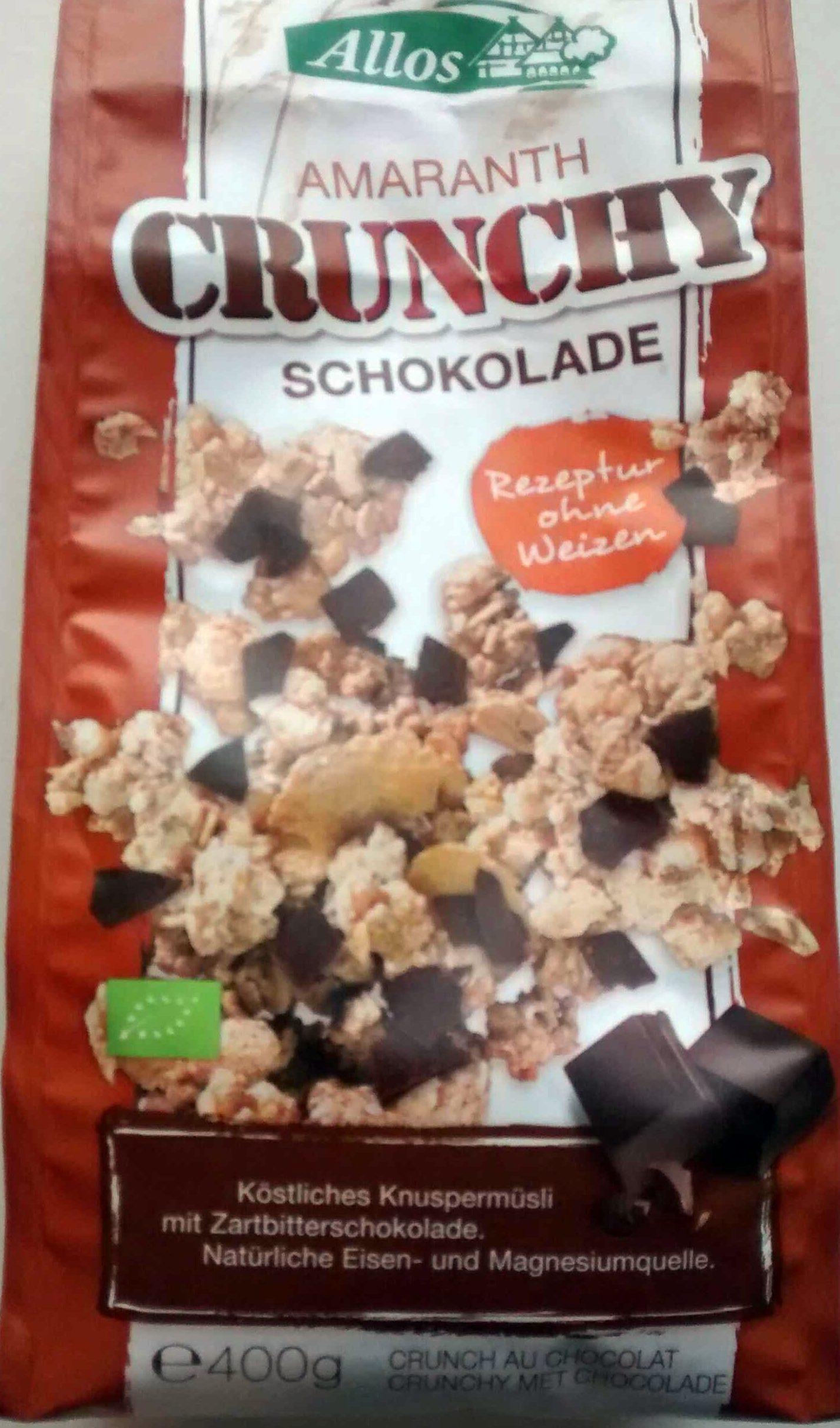 Amaranth crunchy schokolade - Product