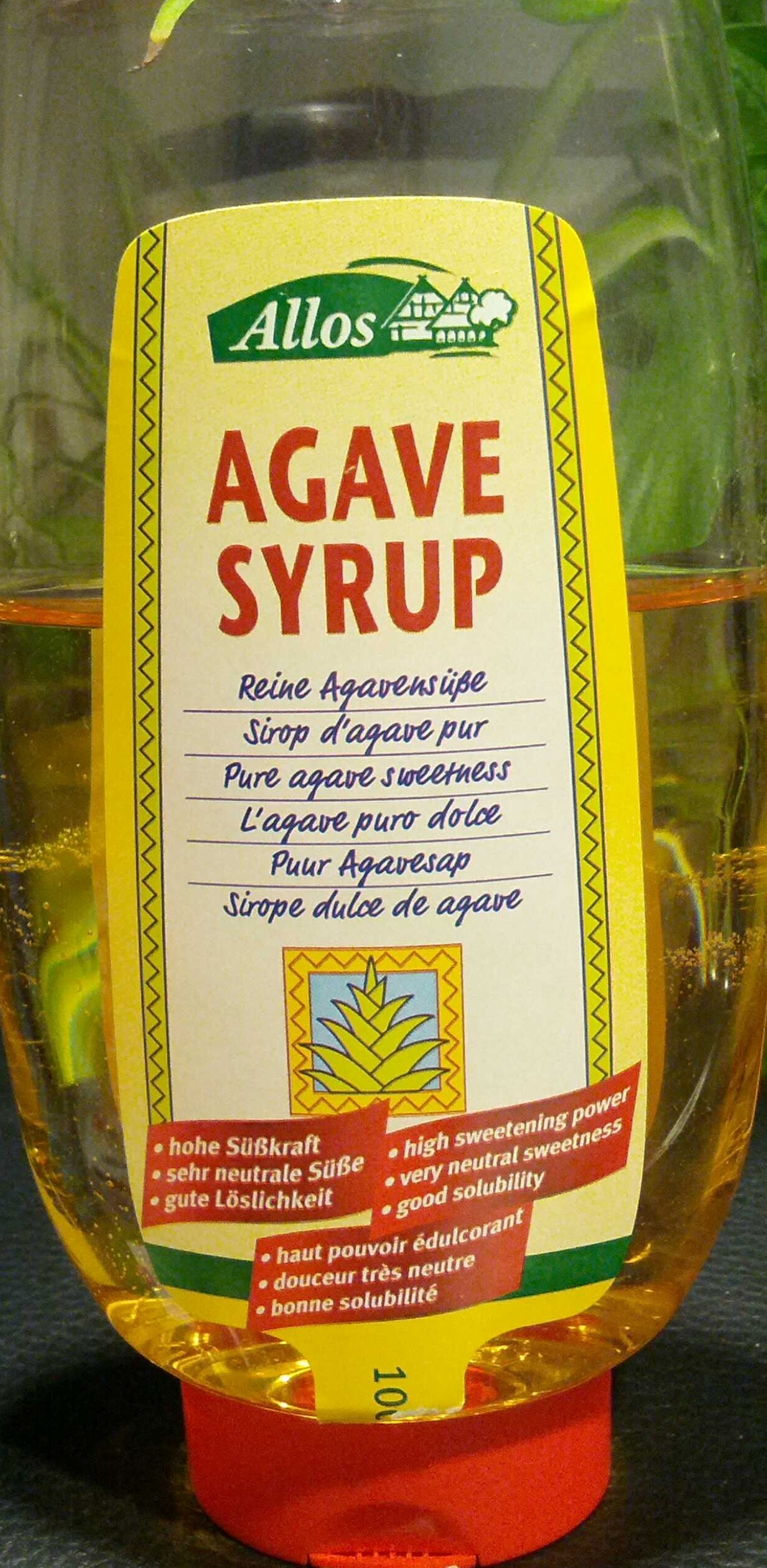 how to use agave syrup
