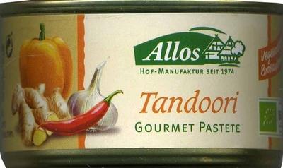Tandoori Gourmet Pastete - Producto