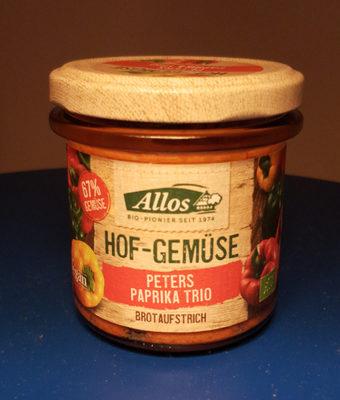 Hof-Gemüse: Peters Paprika Trio - Product