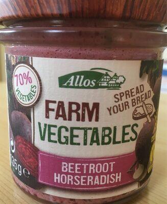 Farm vegetables Beetroot Horseradish spread - Product - fr