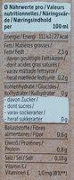 Mandel Drink Ungesüßt - Nutrition facts