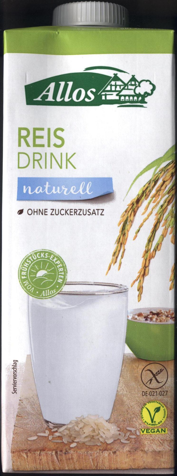 Reis drink - Produit