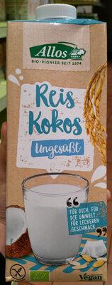 Reis-kokos Drink Naturell - Product - fr