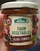 Allos - Hofgemüse Olivers Olive Tomate - 250G - Nutrition facts - fr