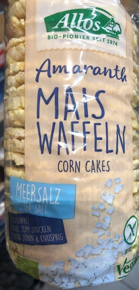 Mais waffeln sea salt - Produit - fr